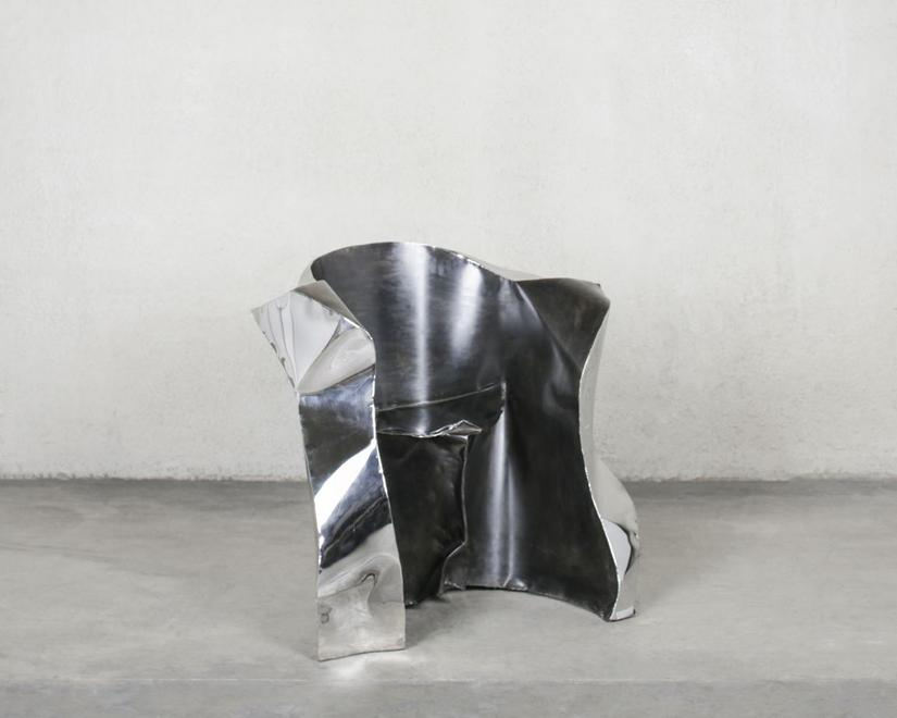 Italian Fish, 1989 Polished and patinated steel 35...