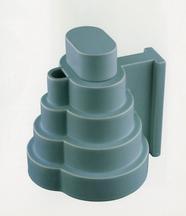 Lapislazzuli (FF no. 803), 1972 Glazed ceramic 7.7...