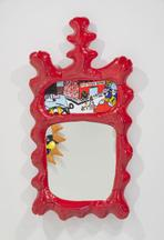 Saturday Morning Series: Red Wall Mirror, 2015 Res...