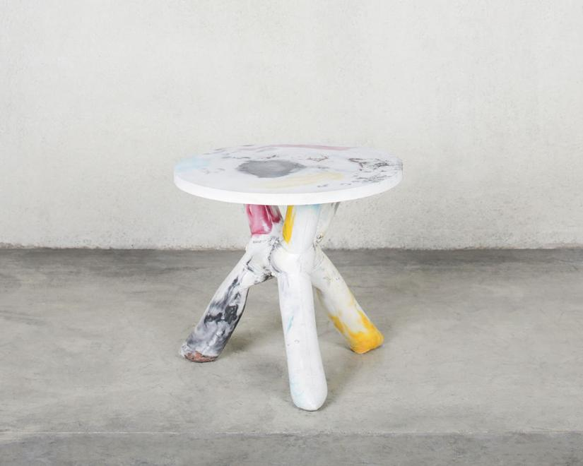 Heyerdahl Table, 2014 Concrete and pigment 27.75 x...