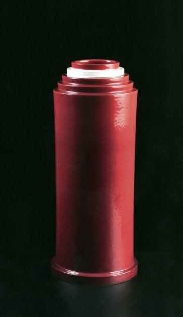 Prototype for Vase (variante rossa e bianca) (FF n...