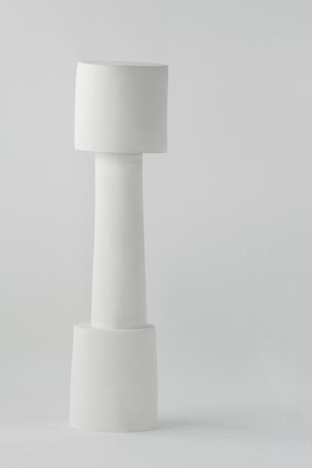 Fragmented Pillar, 08, 2018 Plaster sand 86.75 x 2...