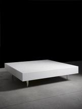 Pizzo Carrara Table, 2007 Marble 15 x 51.18 x 51.1...