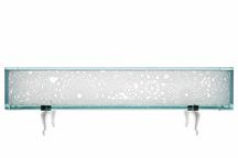 Glass Bench, 2011 Glass 16.5 x 51 x 17.63 inches 4...