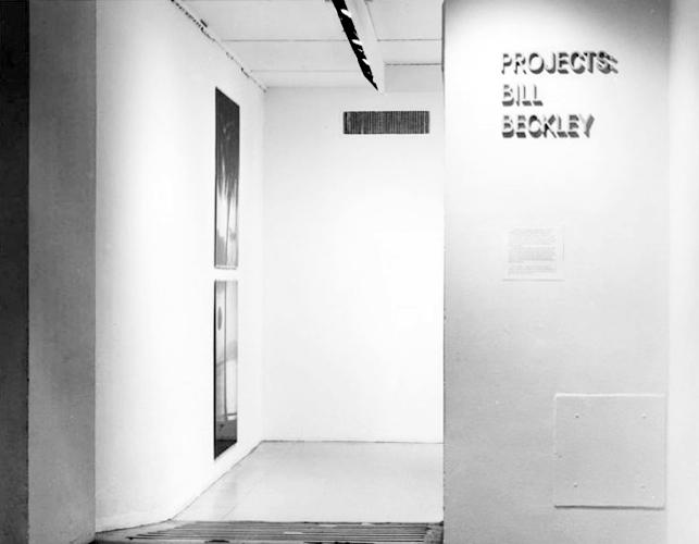 Project: Bill Beckley - Exhibitions