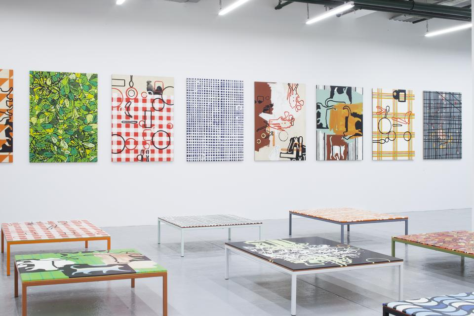Richard Woods: Work Tables - Exhibitions