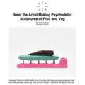 Meet the artist making psychedelic sculptures of f...