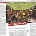 Arte desafiadora - Press