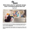 "Misha Kahn aims for ""optimistic design show"" - Pre..."