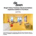 Bright Yellow Friedman Benda Exhibition