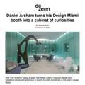 Daniel Arsham turns his Design Miami booth into a...