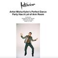Artist Misha Kahn's Perfect Dance Party Has A Lot...