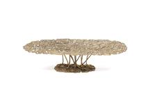 Ofidia Center Table, 2015 Cast bronze 13.78 x 57.0...