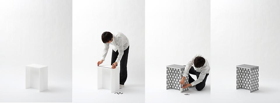 Visible Structures: Stools