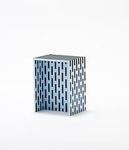Visible Structures: Stool (Blue), 2011 Polystyrene...