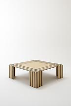 Visible Structures: Table (Large), 2011 Cardboard...