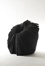 Cabbage Chair (Black), 2008 Unwoven fabric 25.59 x...