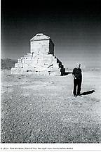 Ettore Sottsass at the Tomb of Ciro, Iran 1998...