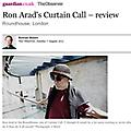 Ron Arad's Curtain Call - A Review